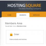 HostingSquare Theme (BoxBilling)