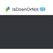 IsDownOrNot? Website Down or Not?