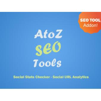 Social Stats Checker - SEO Tool Addon