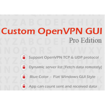 Custom OpenVPN GUI Pro Edition (Source Code)