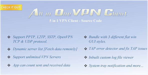 All In One VPN Client (Source Code)