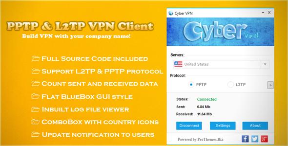 PPTP & L2TP VPN Client