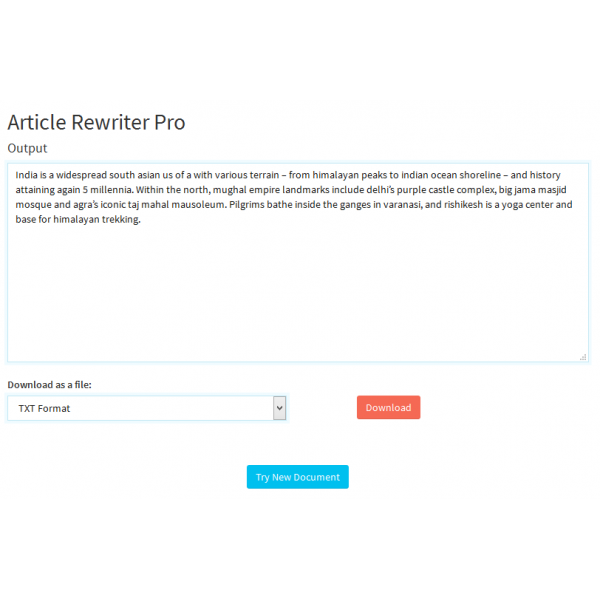 Why is Article Rewriter So Important?