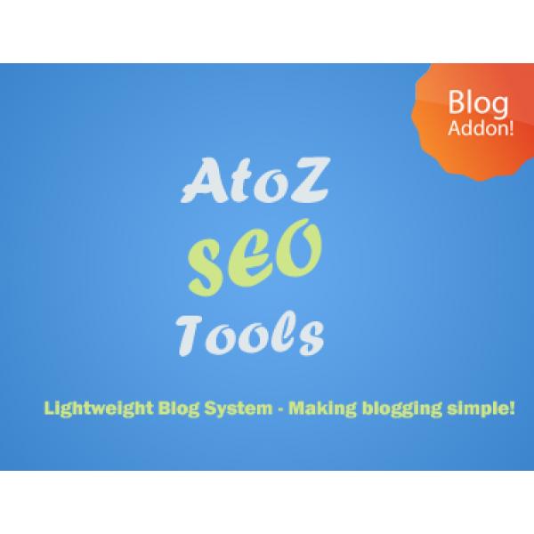 AtoZ SEO Tools Blog Addon