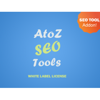 AtoZ SEO Tools - White Label License