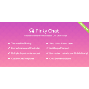 Pinky Chat - Live Chat Support Script