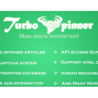 Turbo Spinner: Article Rewriter