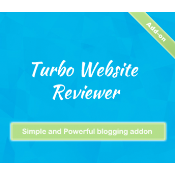 Blog Addon for Turbo Website Reviewer