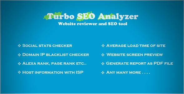 Turbo SEO Analyzer